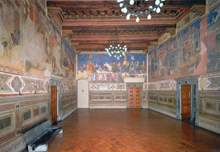Sala Del Consiglio Dei Nove Siena.Buon Governo By Agnese Pianigiani On Genial Ly