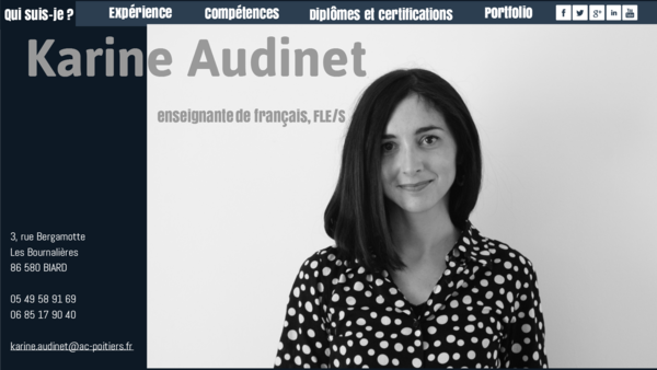 karine audinet cv by loolluby on genial ly